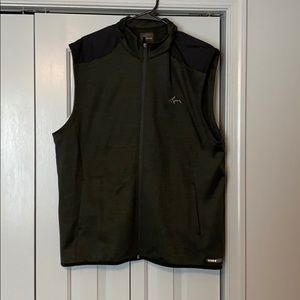 Greg Norman Men's Large Olive green vest